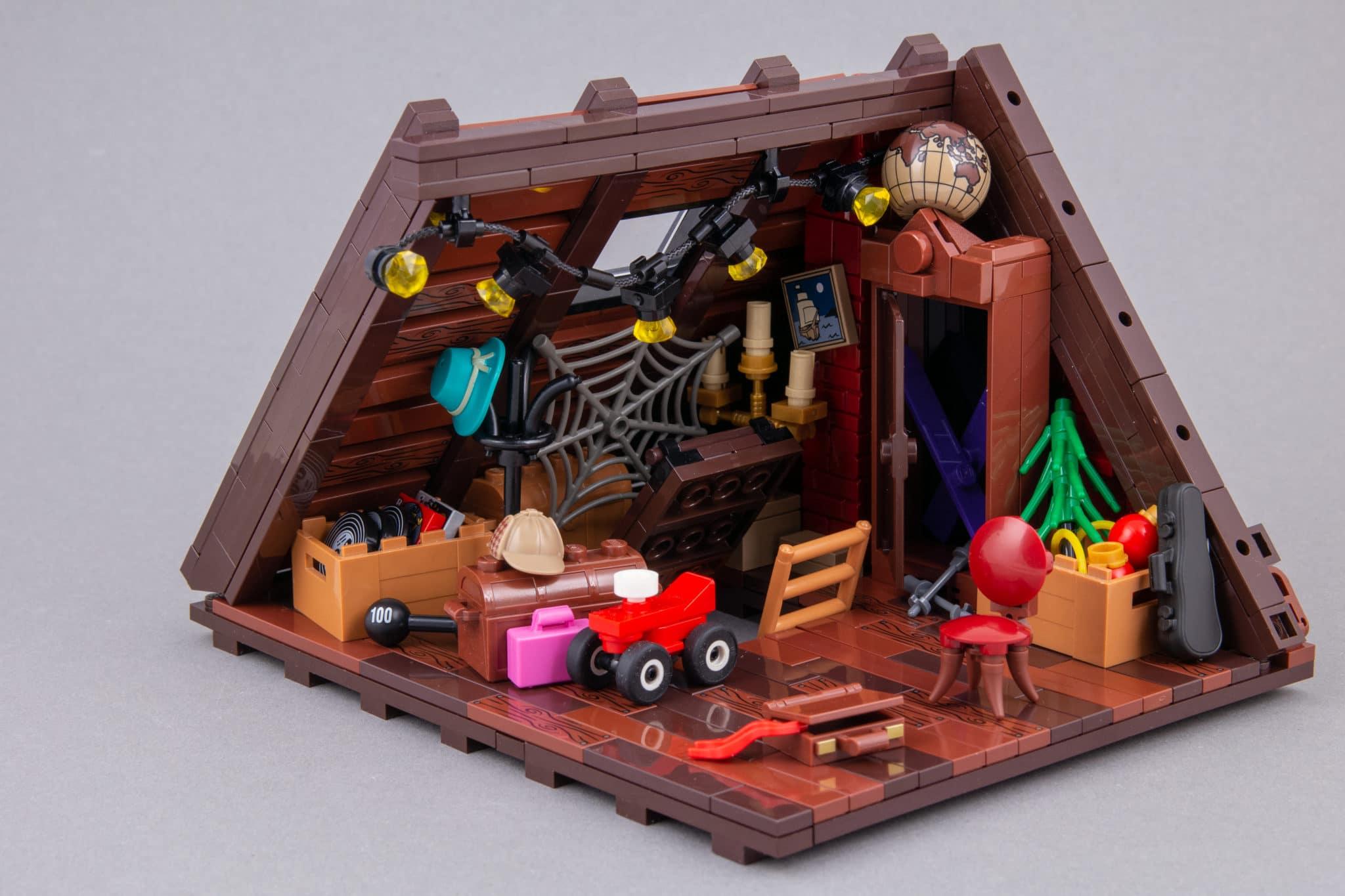 LEGO Moc Dachboden (3)