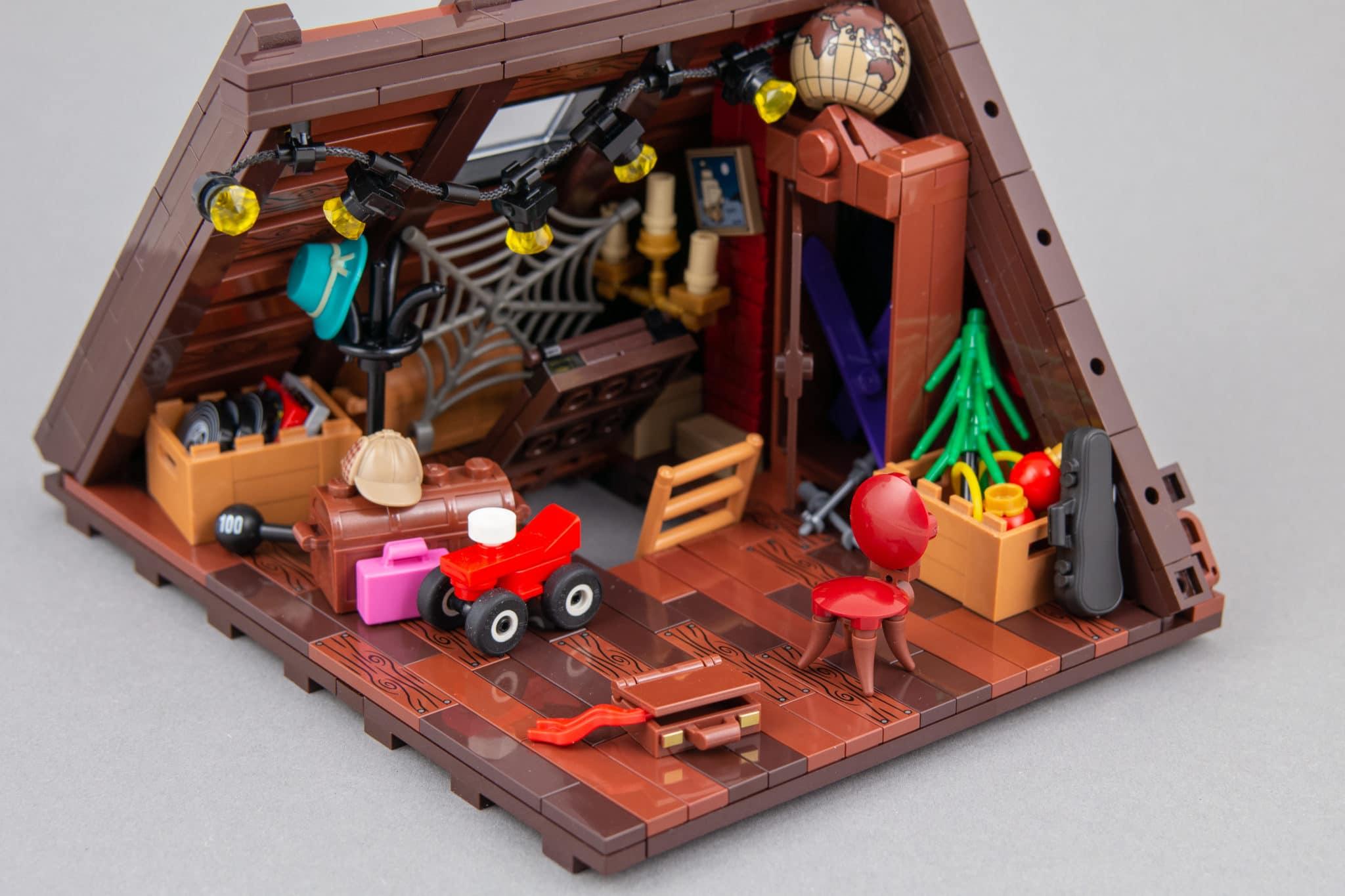 LEGO Moc Dachboden (6)