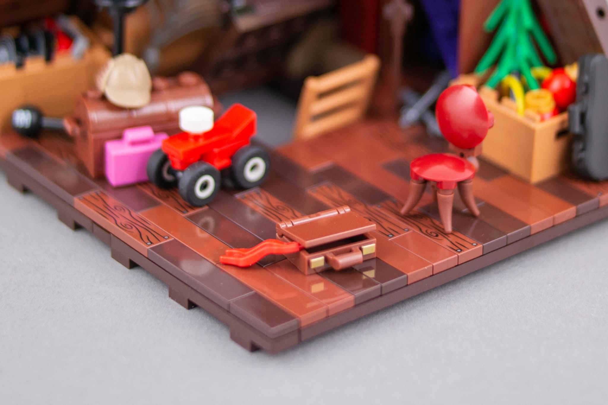 LEGO Moc Dachboden (7)