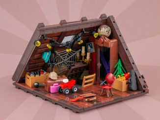 LEGO Moc Dachboden Main01