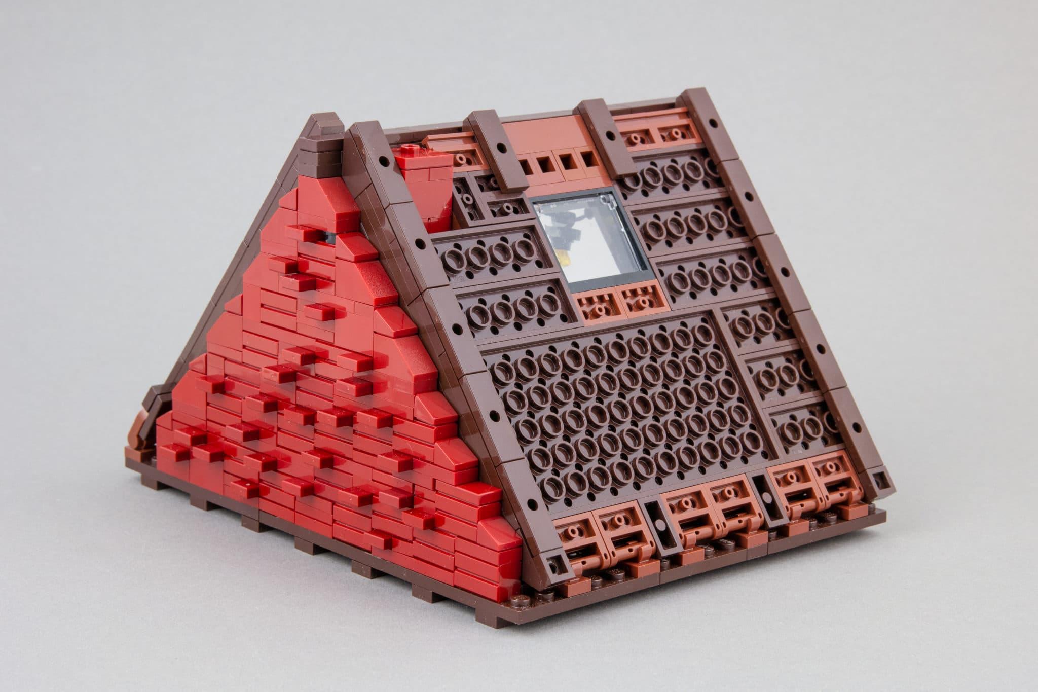 LEGO Moc Dachboden Rueckseite