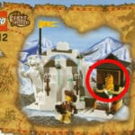 LEGO Orient Expedition 7412 Yeti S Hideout