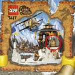 LEGO Orient Expedition 7417 Temple Of Mount Everest