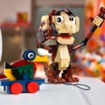 LEGO Red Zone Mokey With Wooden Duck
