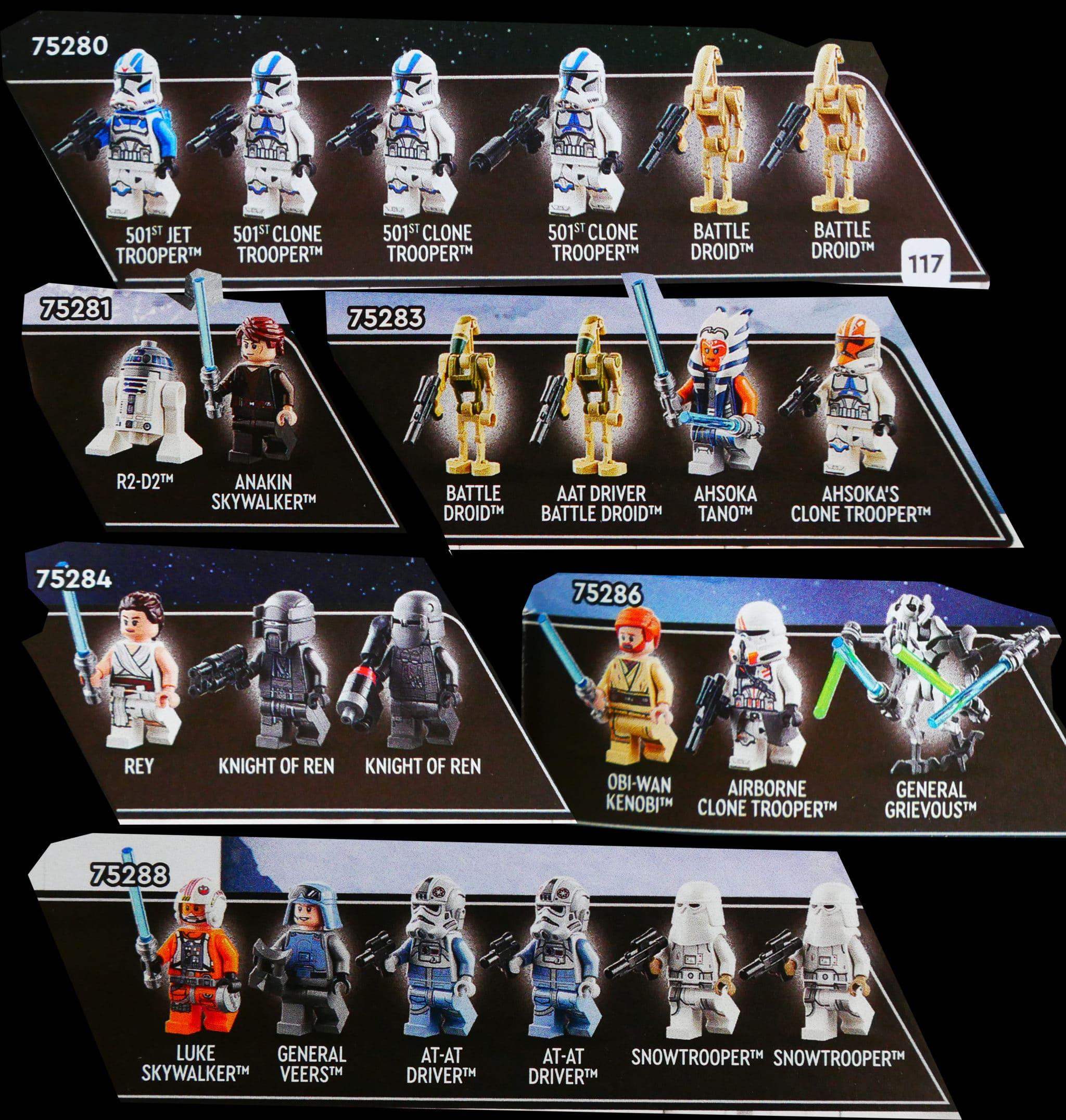 LEGO Star Wars August 2020 Minifiguren
