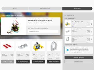 LEGO Steine und Teile Service im neuen Design