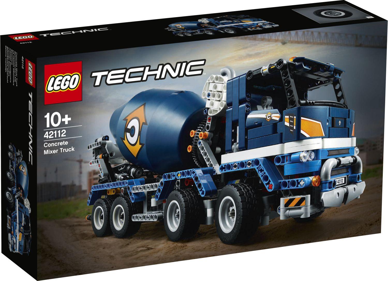 LEGO Technic 42112 Betonmischer Lkw (1)