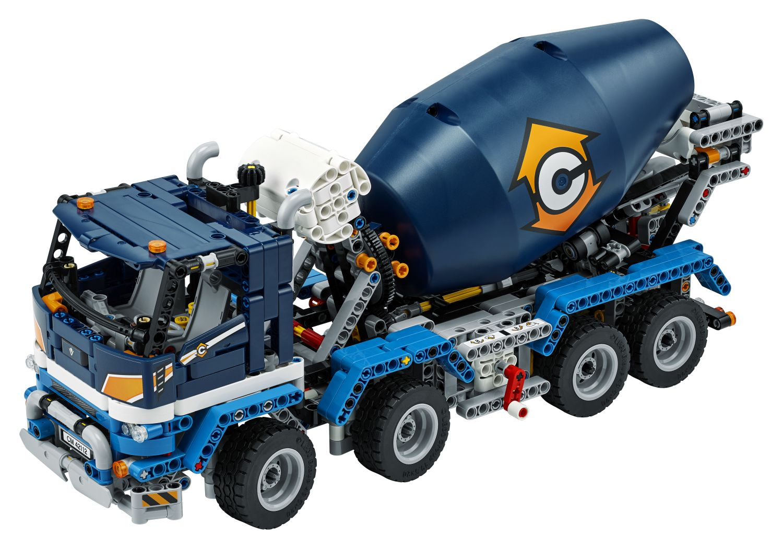 LEGO Technic 42112 Betonmischer Lkw (4)