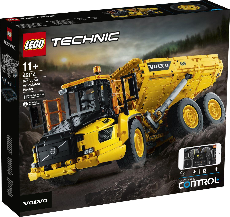 LEGO Technic 42114 Volvo Muldenkipper (1)