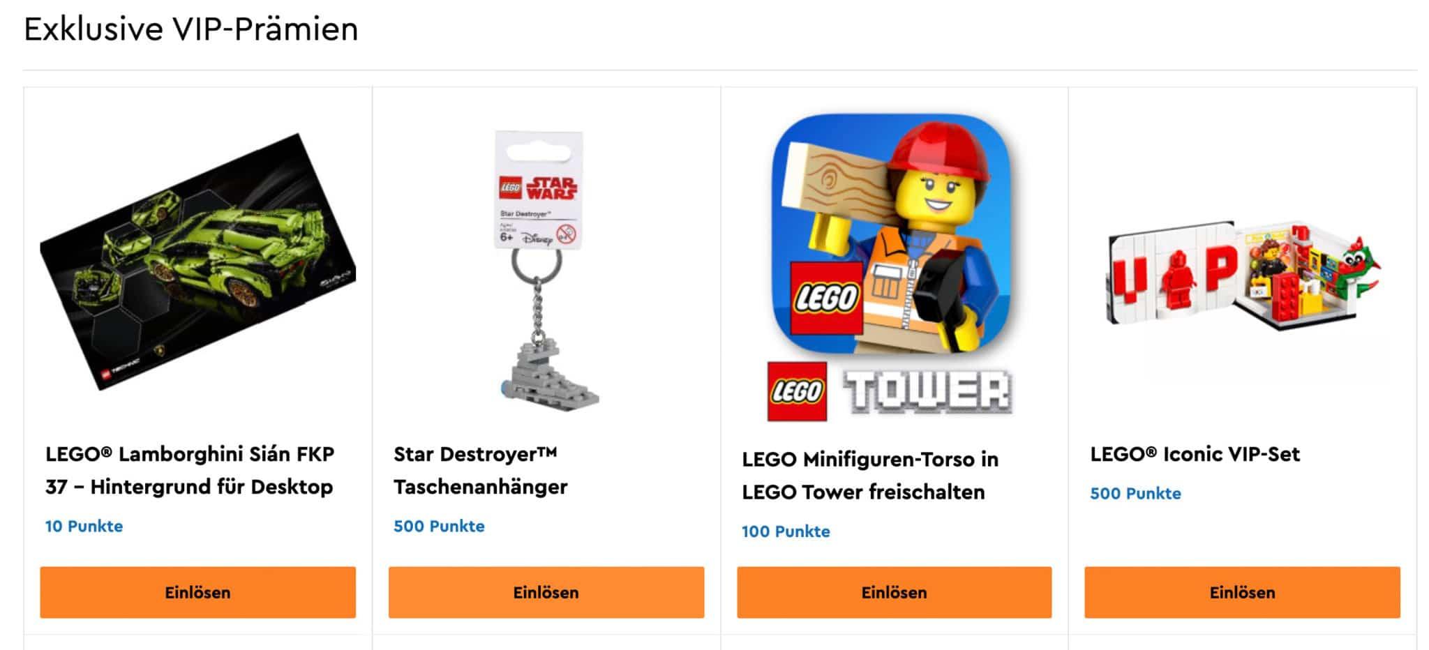 LEGO Vip Prämien Juni 2020