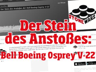Der Stein des Anstoßes: Bell Boeing Osprey V-22