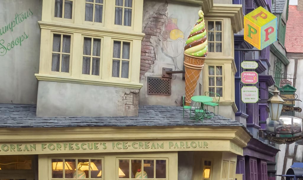 Florean Fortescues's Ice-Cream Parlour