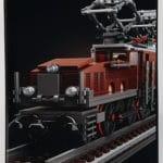 LEGO 10277 Krokodil Lokomotive - Box Seite