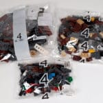 LEGO 10277 Krokodil Lokomotive - Tüten zu Bauabschnitt 4
