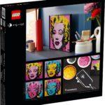 LEGO 31197 LEGO Art Andy Warhol S Marilyn Monroe 10