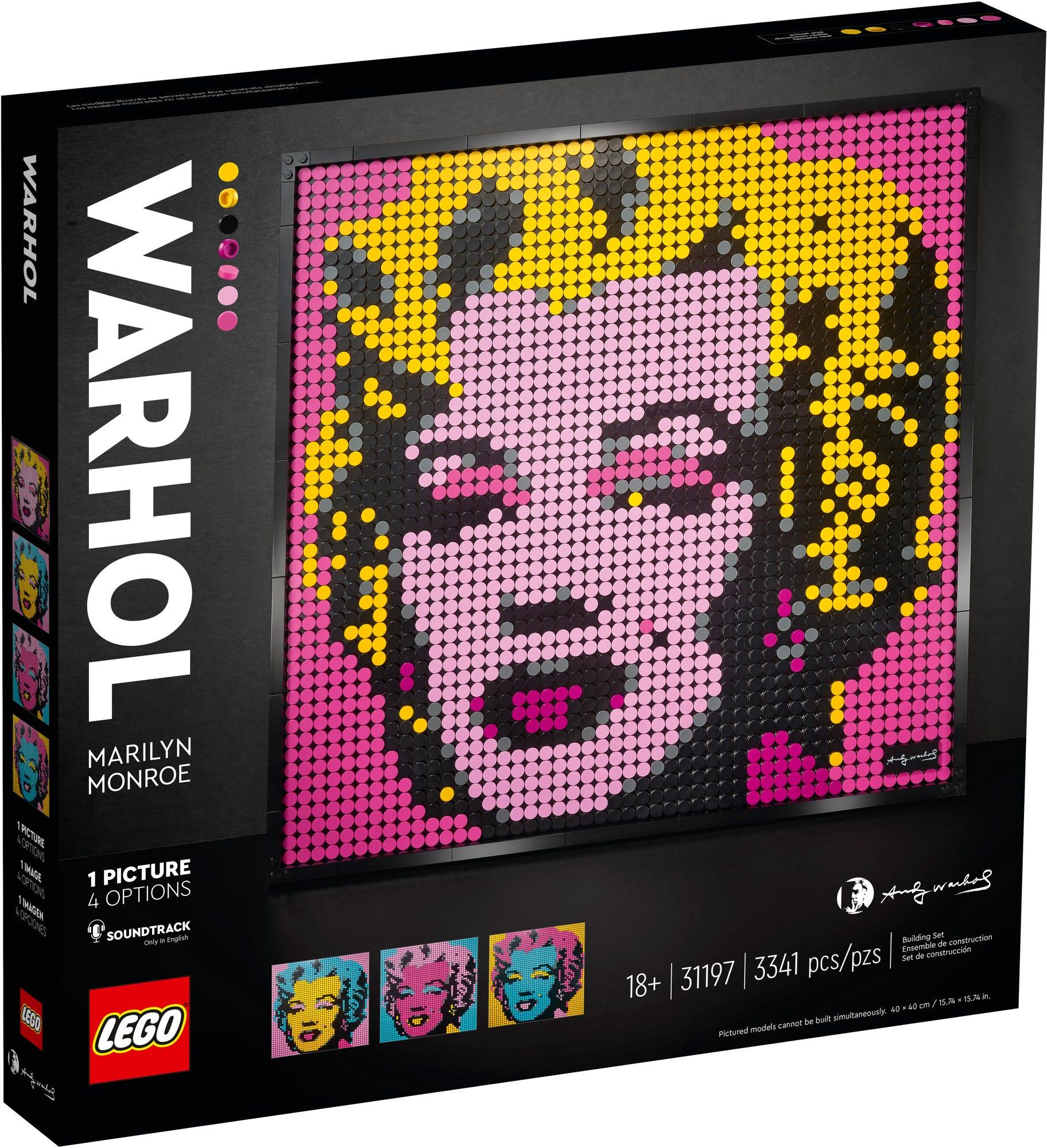LEGO 31197 LEGO Art Andy Warhols Marilyn Monroe