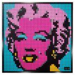 LEGO 31197 LEGO Art Andy Warhol S Marilyn Monroe 4