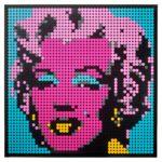 LEGO 31197 LEGO Art Andy Warhol S Marilyn Monroe 8