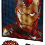 LEGO 31199 LEGO Art Marvel Studios Iron Man Kunstbild 1