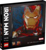 LEGO 31199 LEGO Art Marvel Studios Iron Man Kunstbild 2