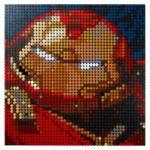 LEGO 31199 LEGO Art Marvel Studios Iron Man Kunstbild 5
