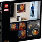 LEGO 31199 LEGO Art Marvel Studios Iron Man Kunstbild 8
