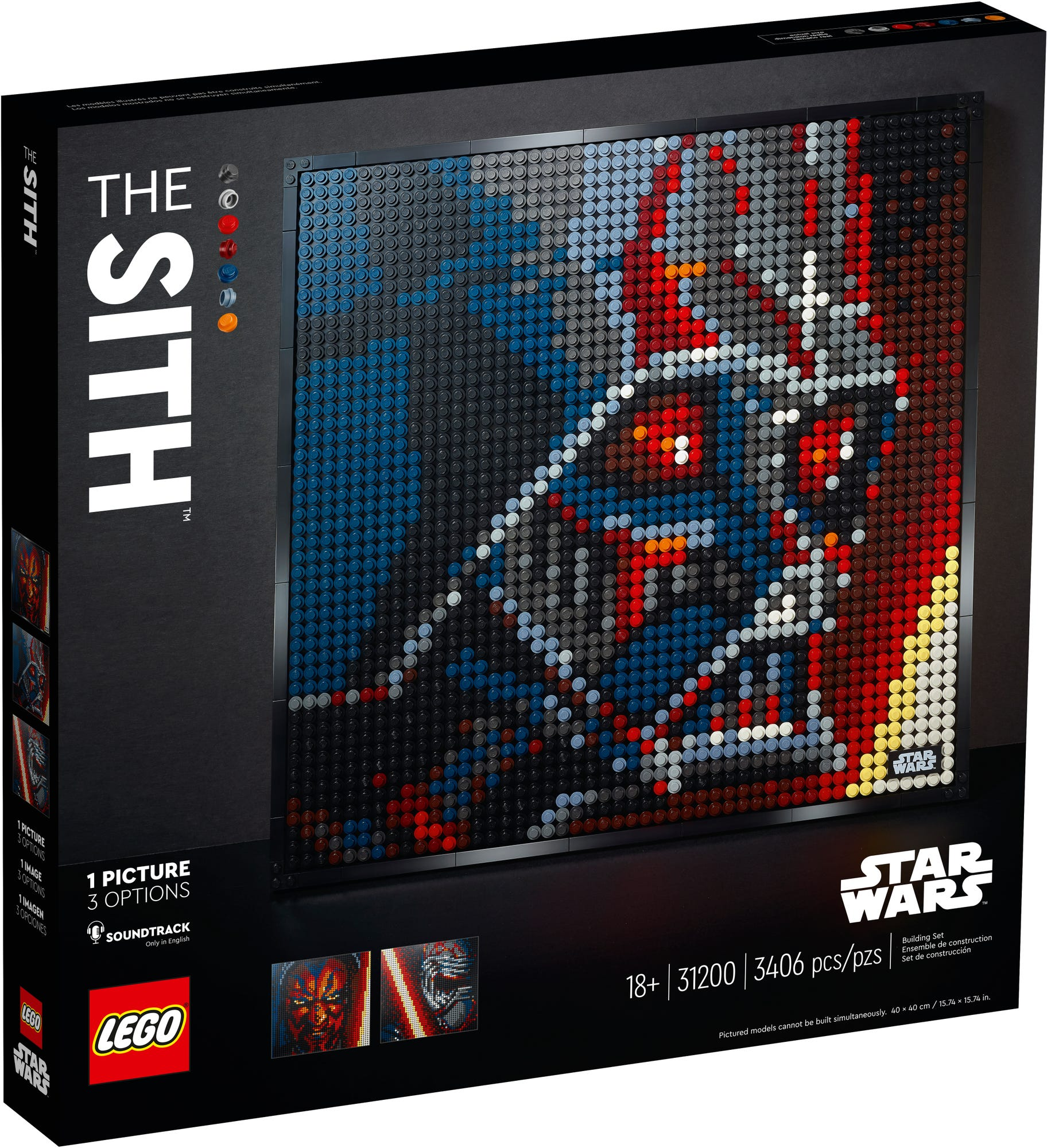 LEGO Art 31200 The Sith