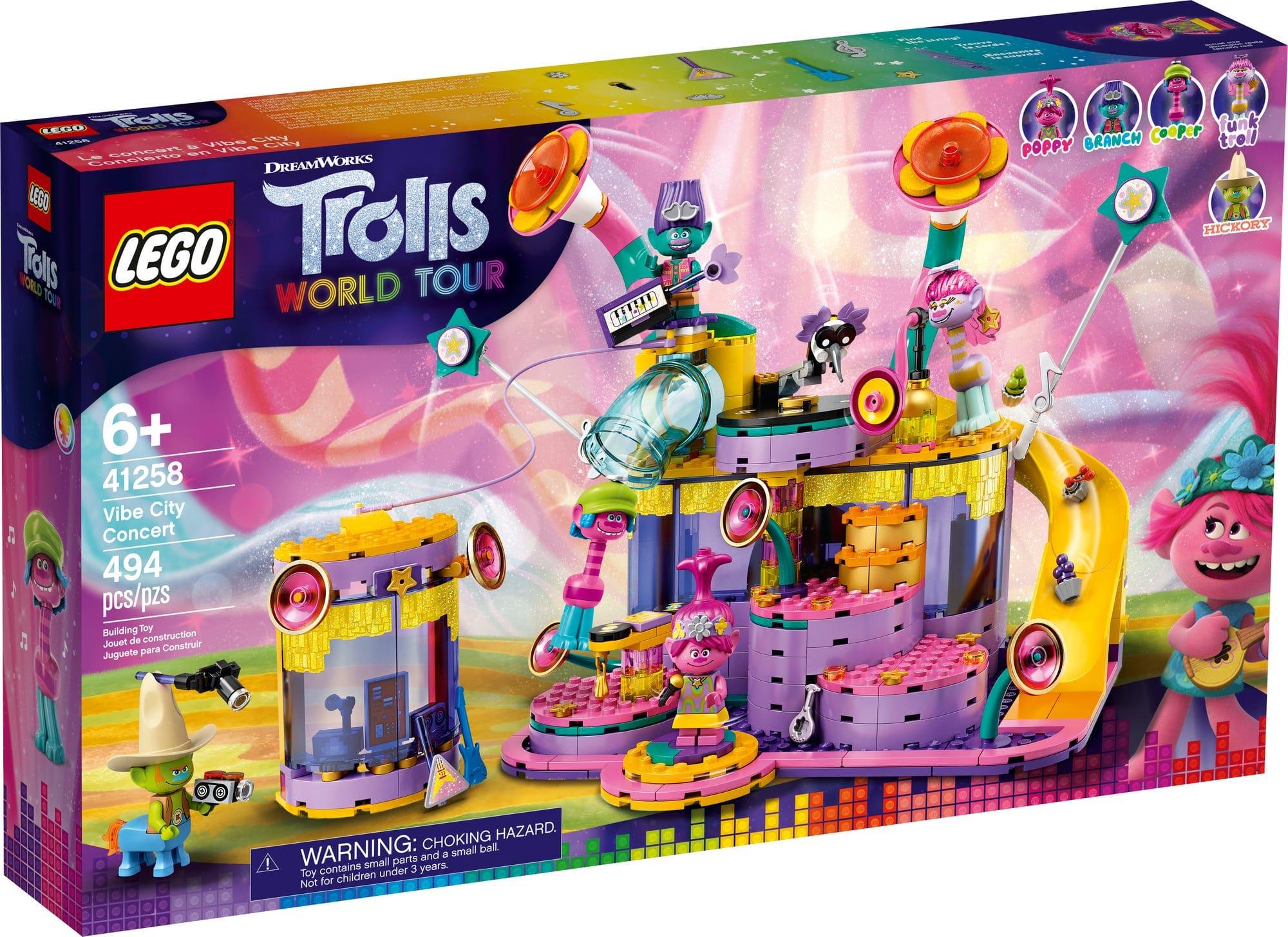 LEGO 41258 Trolls World Tour Das Konzert Von Vibe City 2