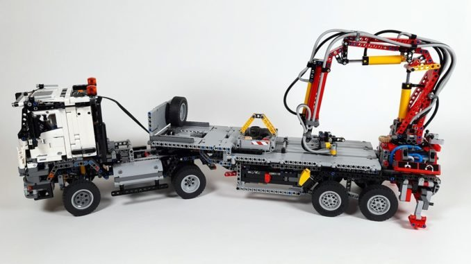 LEGO 42023 Mercedes Benz Arocs B Modell Review