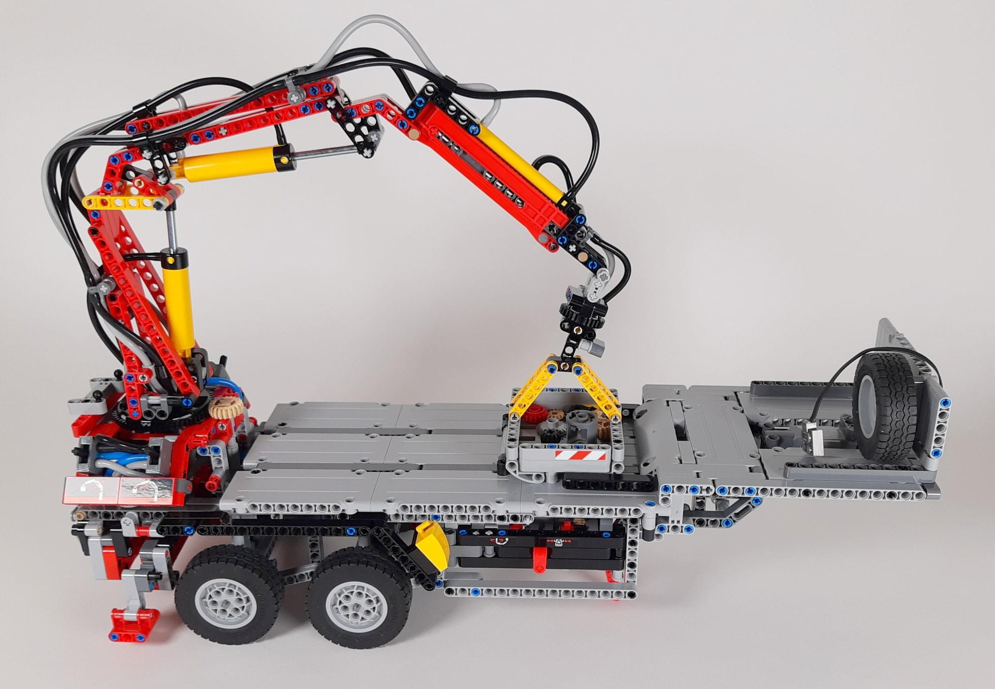 LEGO 42023 Mercedes-Benz Arocs B-Modell - Auflieger