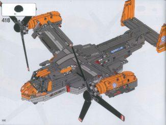 LEGO 42113 Bell Boeing V-22 Osprey Anleitung