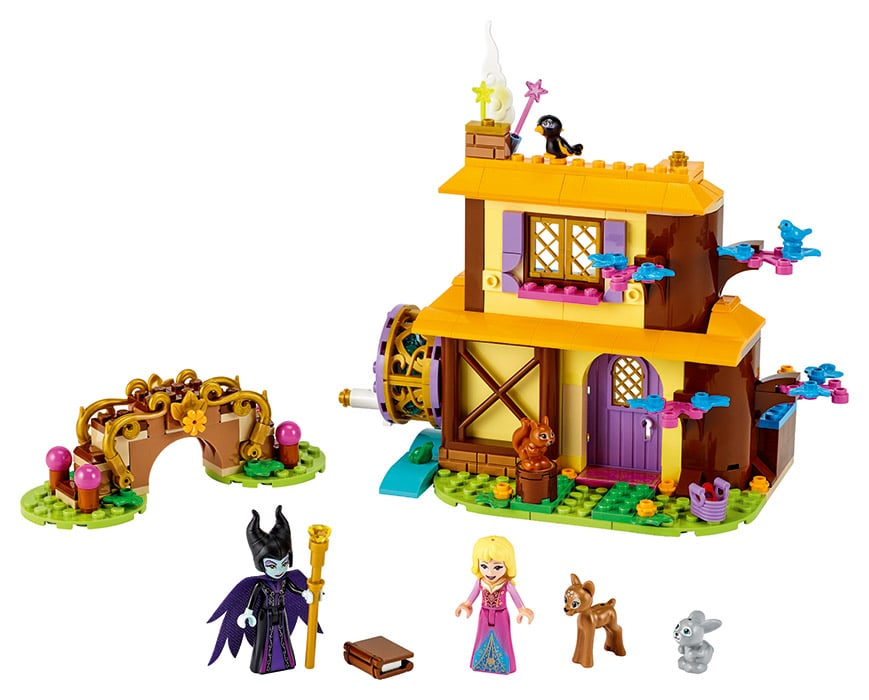 LEGO 43188 Auroras Waldhütte
