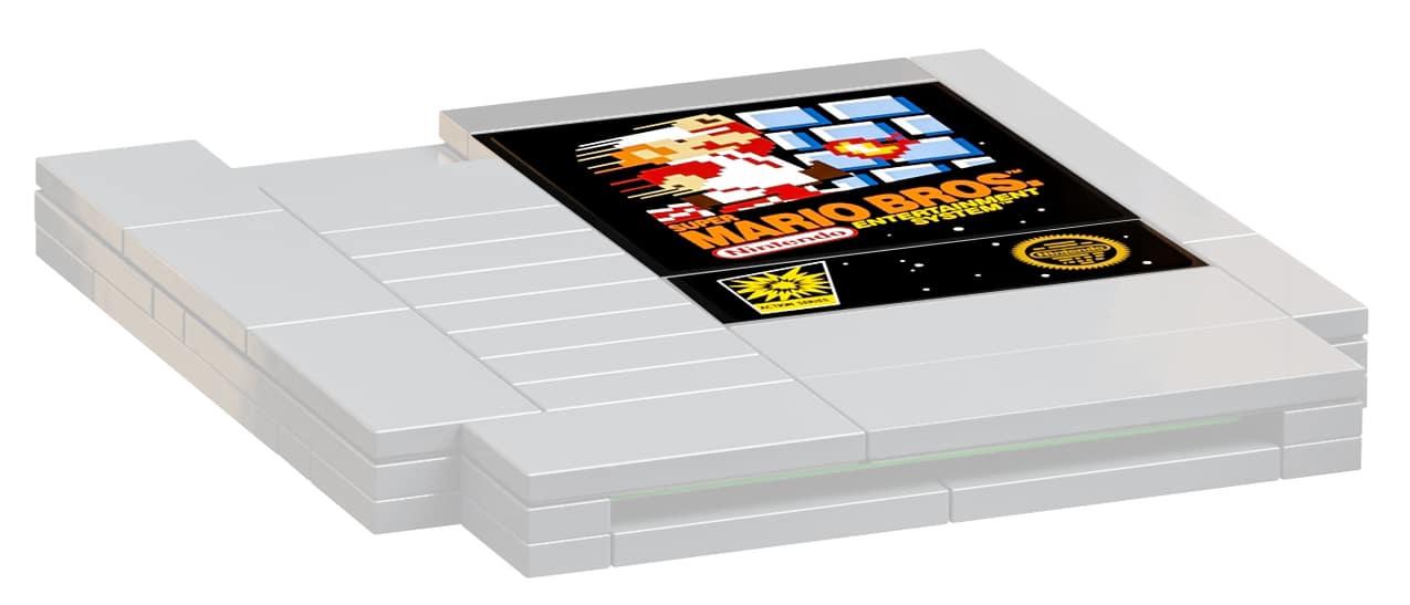 LEGO 71374 NES Cartridge Sticker
