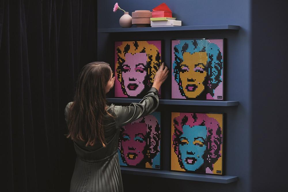 LEGO Art 31197 Marilyn Monroe (5)