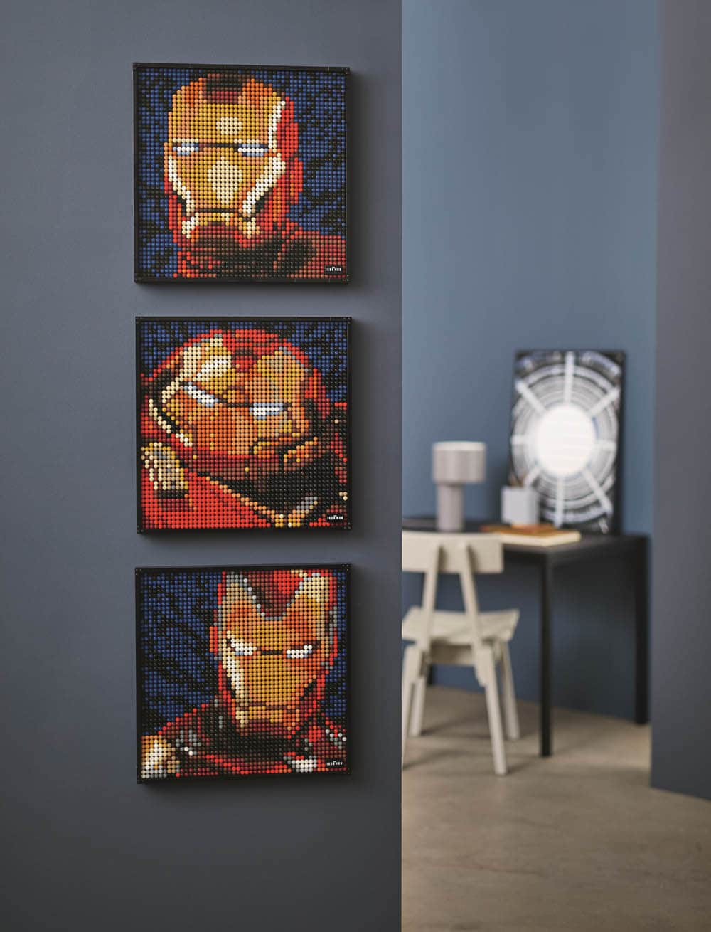 LEGO Art 31199 Iron Man - die drei Motive