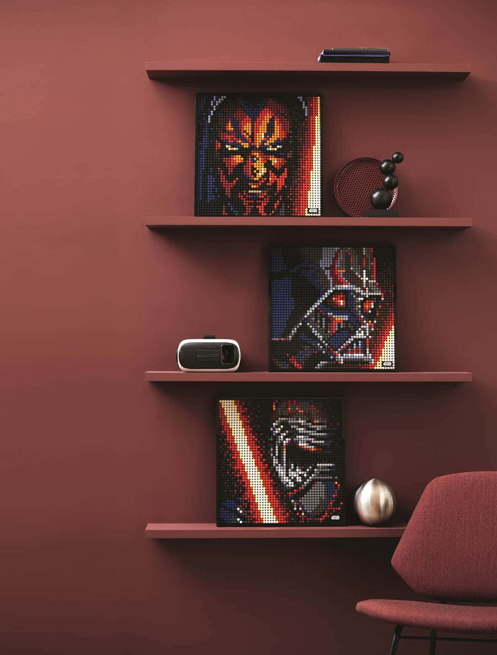 LEGO Art 31200 The Sith - Die drei Motive