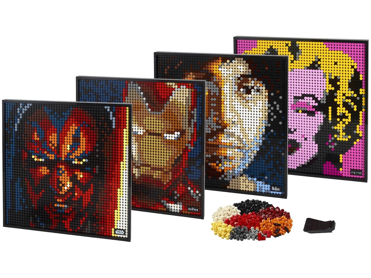 LEGO Art: Vier neue Mosaike vorgestellt