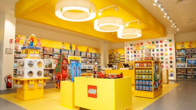 LEGO Brand Store eröffnet in Düsseldorf