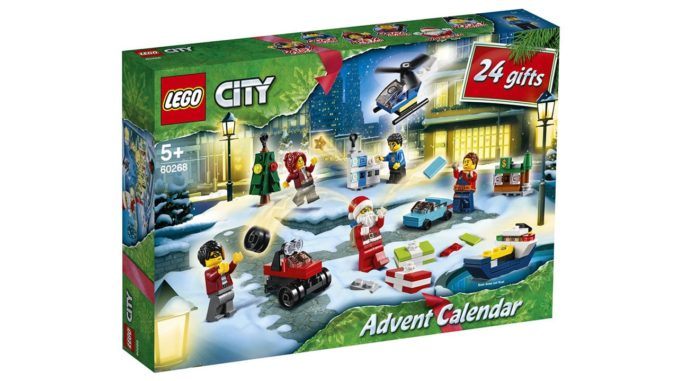 LEGO City Adventskalender 2020 60268 1