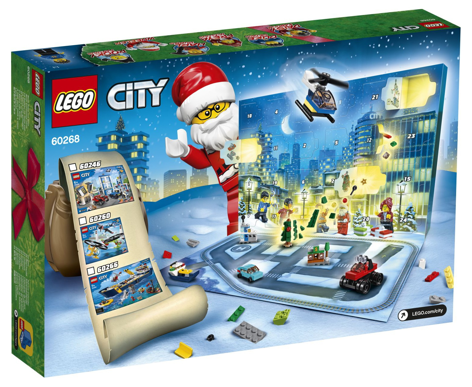 LEGO City Adventskalender 2020 60268 (2)