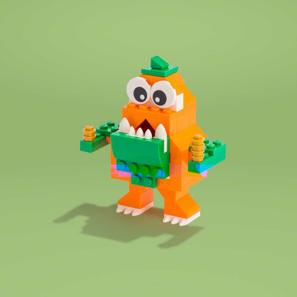 LEGO Coin Cuzzler