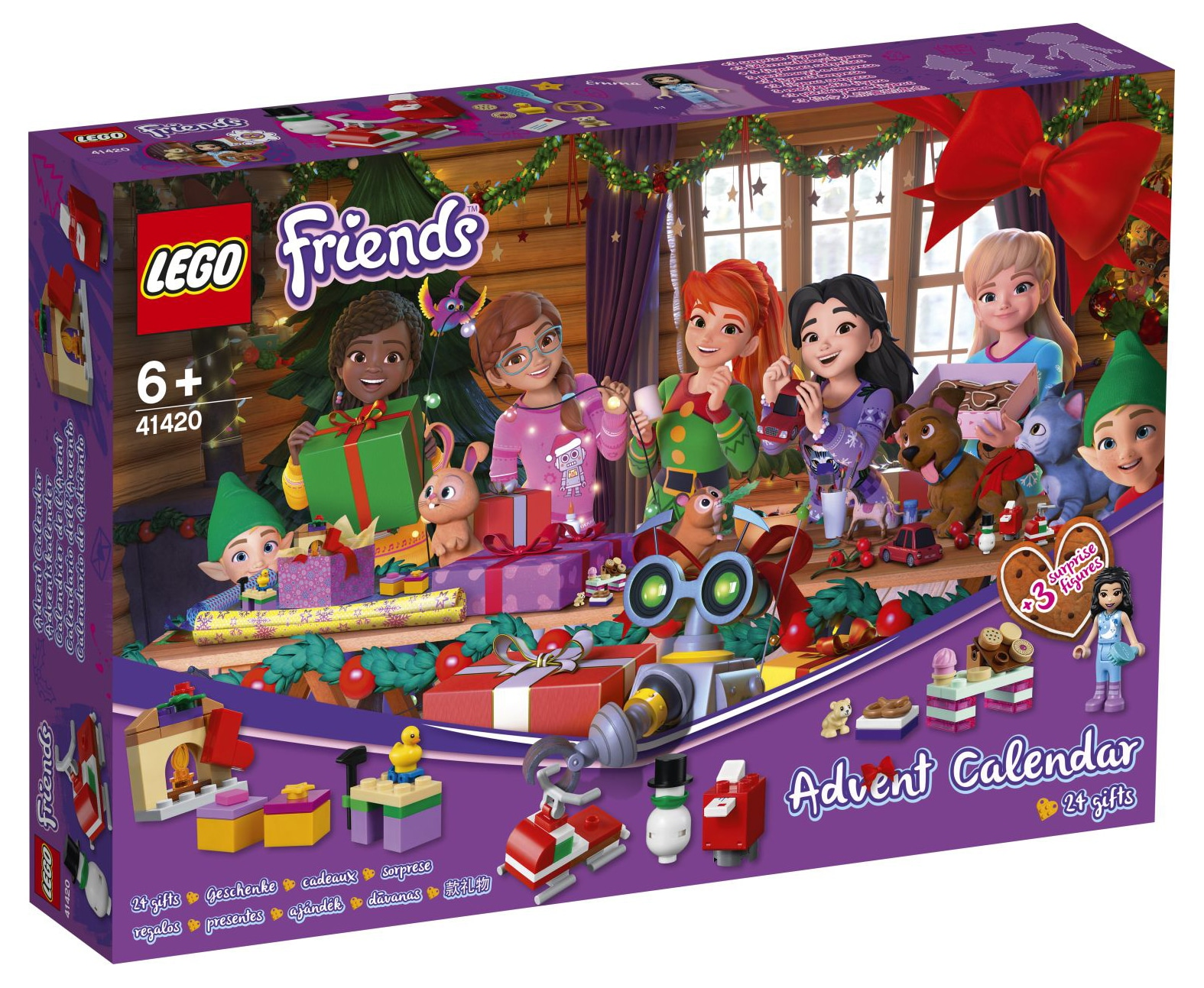LEGO Friends Adventskalender 2020 41420 (1)