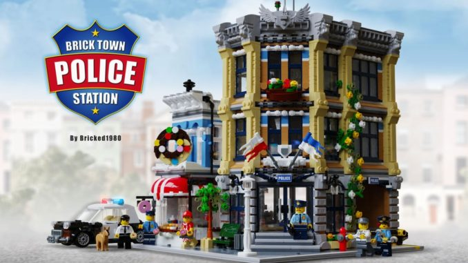 LEGO Ideas Brick Town Police Station (0)
