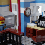 LEGO Ideas Brick Town Police Station (10)