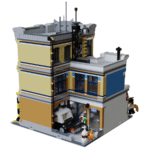 LEGO Ideas Brick Town Police Station (4)