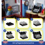 LEGO Ideas Brick Town Police Typewriter