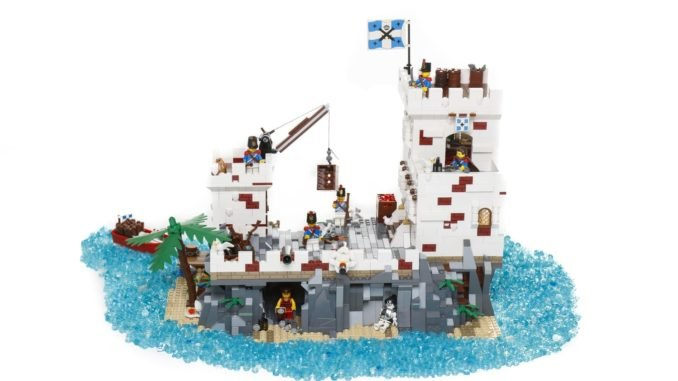 LEGO Ideas Fortress Imperial Army (1)