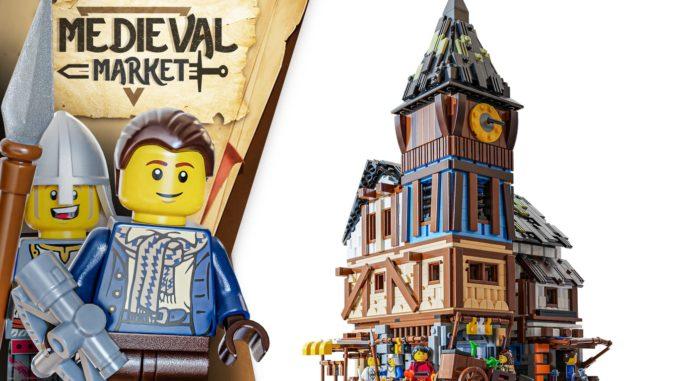 LEGO Ideas Medieval Markets (1)