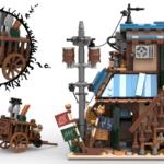 LEGO Ideas Naruto Ichiraku Ramen Shop (14)