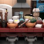 LEGO Ideas Naruto Ichiraku Ramen Shop (7)